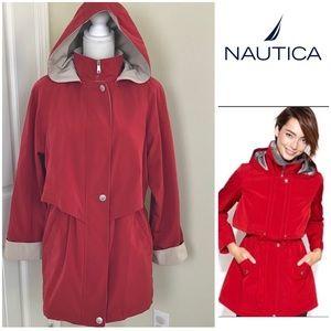 Nautica Raincoat w/ hooded  Jacket